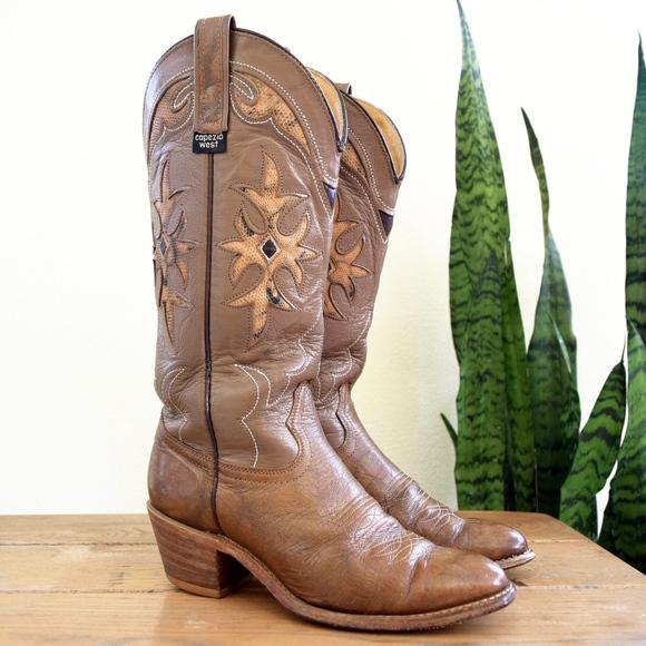 Capezio Schuhes   West Damenschuhe Damenschuhe West 6 12 Vintage Cowgirl Stiefel   Poshmark 90df59